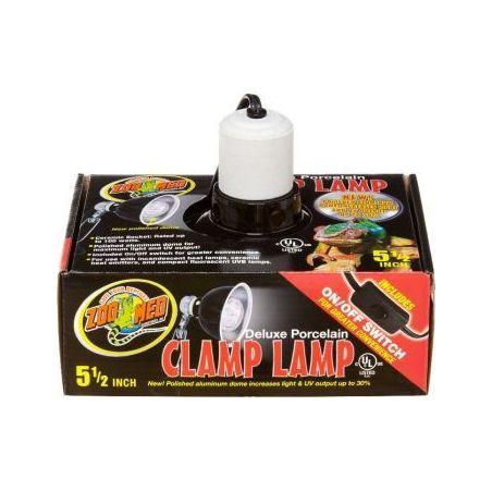 Lf-11ec porcelain clamp lamp max 60w-14cm