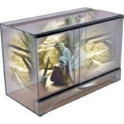 Terrarium 80*40*50 sans cadre à 91,99€ sur Barf-Food-France