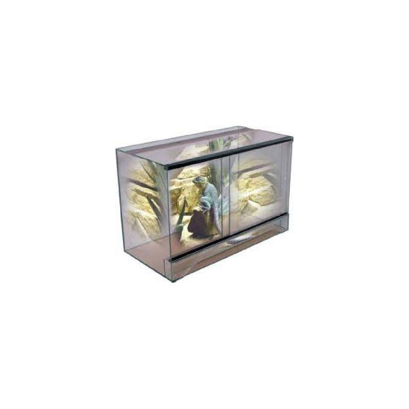 Terrarium 115*50*60 sans cadre à 216,83€ sur Barf-Food-France