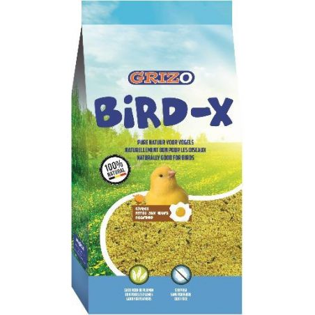 PATEE D'ELEVAGE BIRD-X BRAVO JAUNE SUPER GRAS sac 0,9 kg