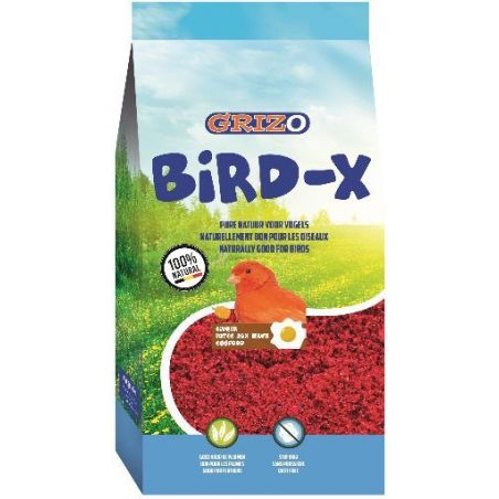 PATEE D'ELEVAGE BIRD-X BRAVO ROUGE SUPERGRASSE sac 4,5 kg