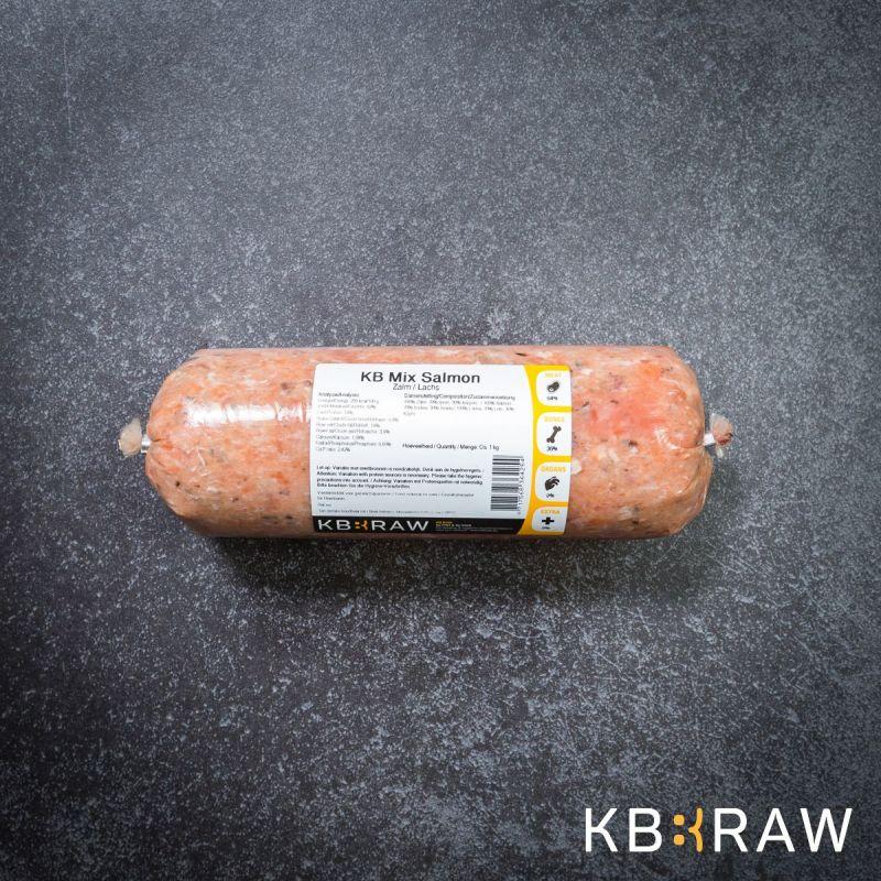 KB MIX- Saumon 1Kg à 3,66€ sur Barf-Food-France