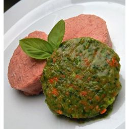 Barfburger de légumes 10 X 1kg (+/- 20 x 50g) à 38,24€ sur Barf-Food-France