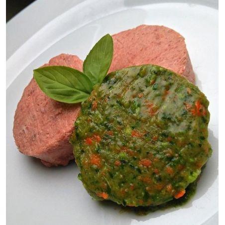 Barfburger de légumes 10 X 1kg (+/- 20 x 50g)