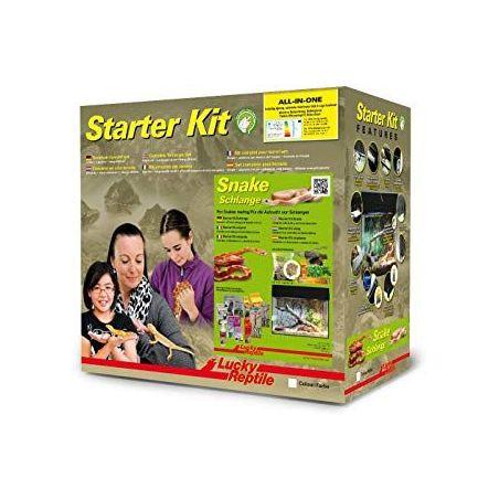 """Starter Kit 50 cm """"serpent"""" noir"""