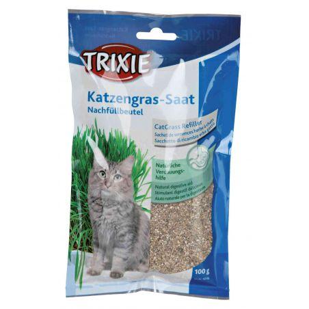 Sachet de semences herbe à chats pour   4235 : 100 g