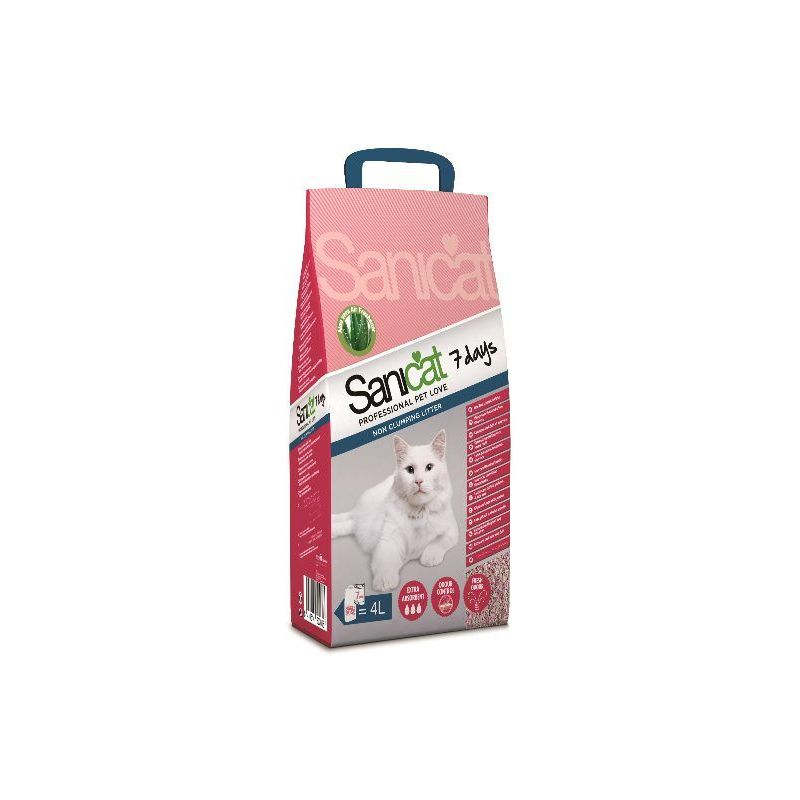 SANICAT 7 DAYS 4L ALOE VERA à 2,91 € sur Barf-Food-France