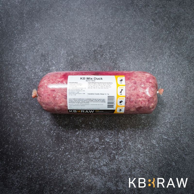 KB MIX- Lapin 500g à 3,16€ sur Barf-Food-France