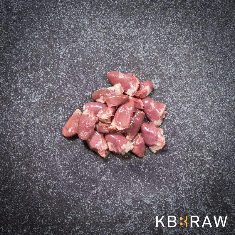 KB BARF Coeur de poulet 1Kg à 4,81€ sur Barf-Food-France